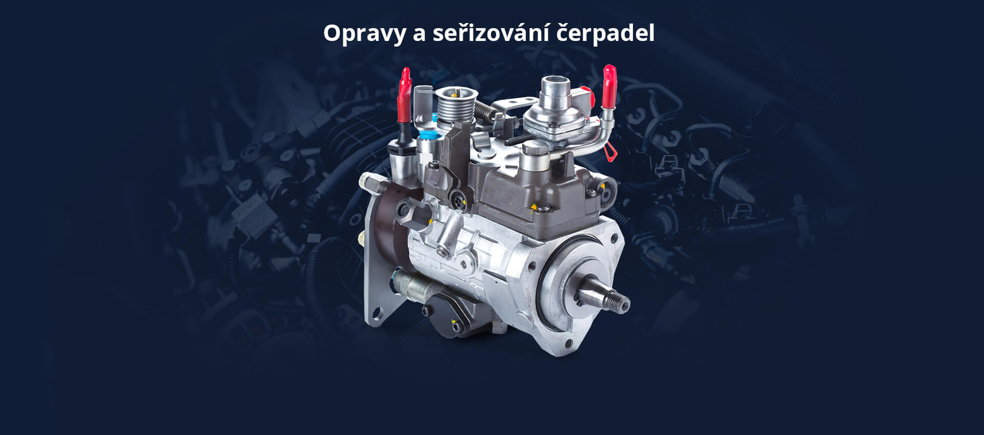 Opravy a seřizování čerpadel Autodiesel Laszák