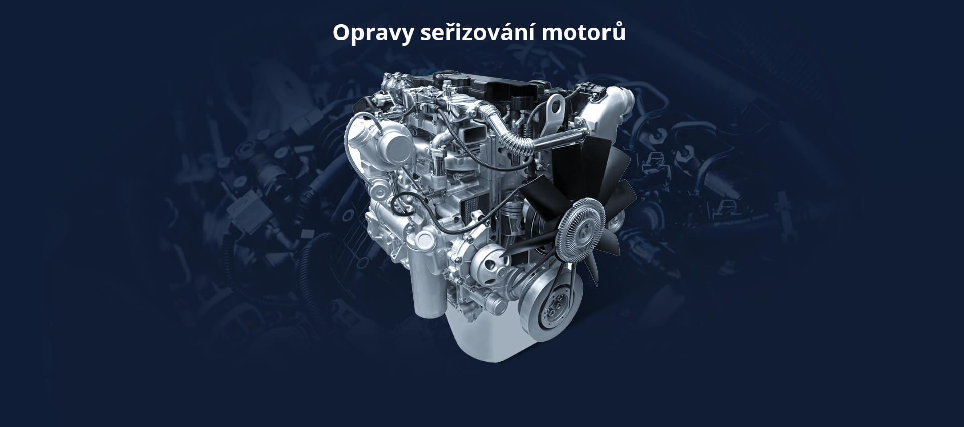Opravy a seřizování motorů Autodiesel Laszák